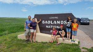 FamilyBadlandsSign